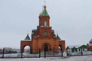 Храм преп. Сергия Радонежского п. Новосергиевка